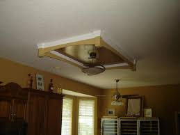 Kitchen Ceiling Fans With Lights Canada by I Have Wanted To Put A Recess In The Ceiling Of The Kitchen Area