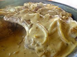 côte de porc à la crème moutarde bière et oignons la cuisine de