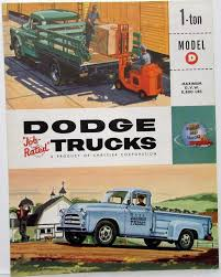 1955 Dodge Truck Model D Pickup Express Stake One Ton Sales Folder ... Just A Car Guy The Only Other Truck In Optima Ultimate Street 51957 Dodge Truck Factory Oem Shop Manuals On Cd Detroit Iron This Is One Old Warrior That Isnt Going To Fade Away The Globe 1955 Power Wagon Base C3pw6126 38l Classic Custom Royal Lancer Convertible D553 Dodge Google Search Rat Rods Pinterest Chevy Apache For Real Mans Yields Charlie Tachdjian Pomona Swap Meet Pickup Sale Cadillac Mi