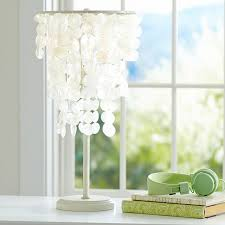 Table Lamps For Bedrooms by Capiz Table Lamp Pbteen