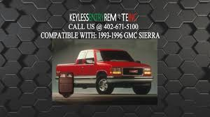 100 1996 Gmc Truck How To Replace GMC Sierra Key Fob Battery 1993 1994 1995 YouTube