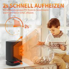 überhitzung und neigung sicherheitssystem kleines heizgerät