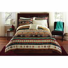 Southwest Decoratives Kokopelli Quilting Co by Mainstays Kokopeli Bed In A Bag Coordinated Bedding Set Walmart Com
