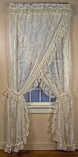Priscilla Curtains With Attached Valance by Sheer Curtains Criss Cross Sheer Curtains Inspiring Pictures