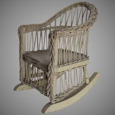 Antique Wicker Rocking Chair For Doll Or Teddy Bear : Neatcurios ... Vintage White Wicker Rocking Chair Renewworks Home Decor Wisdom And Koenig Interior Iron Rocking Chair Designer Outdoor Villa Back Yard Rattan Alinum Chairs Lounge Rocker Agha Interiors Blue Heron Pines Homeowners Association Cape Cod Kampmann With Cushions Reviews Joss Coral Coast Mocha Resin Beige Cushion Terrace Leisure Fniture With High And Alinium Tortuga Portside Classic Wickercom Aliexpresscom Buy Giantex Patio