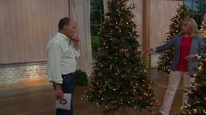Qvc Pre Lit Christmas Trees by Bethlehem Lights Grand Fir Tree With Swift Lock Technology On Qvc