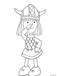 36 Coloring Pages Of Wicky The Viking On Kids N Funco