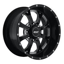 100 Bmf Truck Wheels BMF Novakane Death Metal Gloss Black A165193 Free Shipping