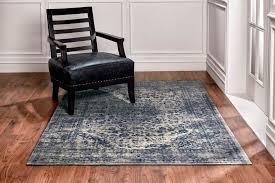 orient blue leicht zu reinigender teppich wohnzimmer schlafzimmer blau beige 160 x 230 200 x 300 cm esa home