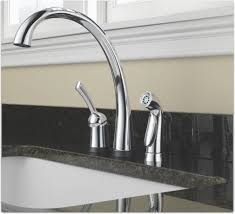 Delta Touchless Kitchen Faucet Problems by Delta 4380t Dst Pilar Single Handle Kitchen Faucet With Touch2o