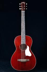 Guitar String Art Roadhouse Red Artwork