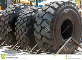 100 Tires For Trucks And Cranes Stock Image Image Of Huge Products