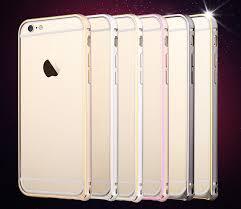 TOTU Aluminium iPhone 6 Bumper Golden