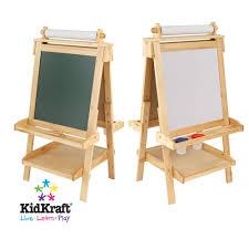 Kidkraft Easel Desk Espresso by Childrens Wooden Easel Easels Children S Easels Art Centres Early