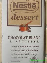 fondant au chocolat blanc création gourmande