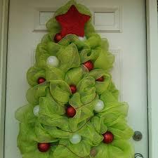 Christmas Tree Wreath Deco Mesh