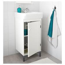 Solid WENGE Dark Oak Single Door Bathroom Cabinet