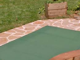 Patio Floor Ideas On A Budget by How To Stain Concrete How Tos Diy