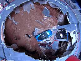Corvette Museum Sinkhole Cars Lost by National Corvette Museum U0027s Prized Vehicles Were Consumed By A