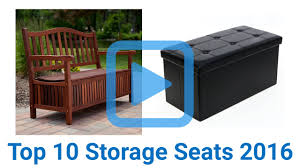 Suncast Patio Storage Bench Walmart by Top 10 Storage Seats Of 2016 Video Review