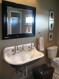 Trough Bathroom Sink With Two Faucets Canada by Trough Bathroom Sink With Two Faucets Canada Faucet U2013 Tijanistika Info