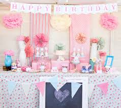 Pink White And Gold Birthday Decorations by Lovely Pink White And Gold Party Decorations For Became