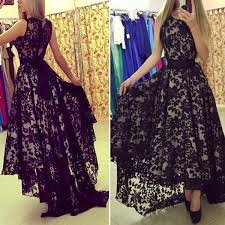 25 lace formal dresses ideas black white
