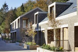 100 Mews Houses Morris Company Reveals Staggered Mews Housing For