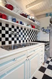 schachbrett fliesen küche