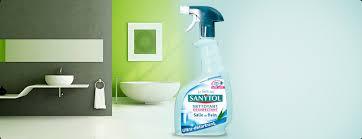 sanytol salle de bain produits désinfectants sans javel pour toute la maison sanytol