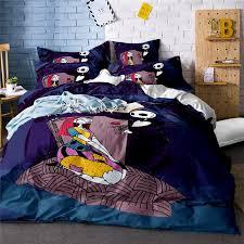 großhandel vintage bettwäsche set paar schä bettbezug pflanze bettwäsche bettwäsche bettlaken kissenbezug 3d bettwäsche bett set kissenbezug