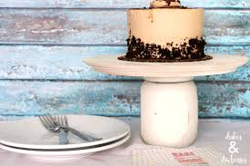 Upcycled DIY Cake Stand Dukes and Duchesses