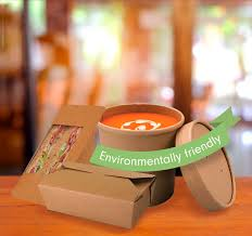 Recyclable Biodegradable Compostable Takeout Food Containers