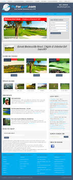 FlyforGolf Logo Design And Travel Website