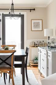 Modern Farmhouse Ad Wood Tones Industrial Dining Room