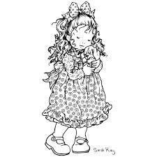 Sarah Kay 64 Dibujos Animados Páginas Para Colorear