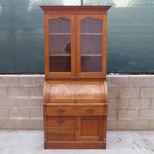Antique Secretarys Desk by Furniture Home Antique Drop Front Secretary Desk With Bookcase