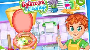 Caillou In The Bathtub Reaction by Bathroom Clean Up Play Fun Kids Children Games Bathroom