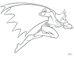 Click The Beware Batman Coloring Pages To View Printable