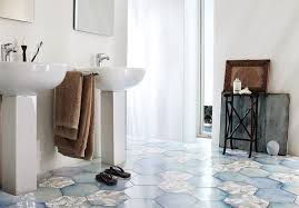 tiles inspiring shaped floor tiles black hexagon tile blue hexagon