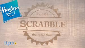 Standard Scrabble Tile Distribution by Scrabble Rustic Edition From Hasbro Youtube