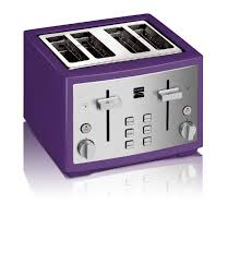 Kenmore 4 Slice Toaster Purple