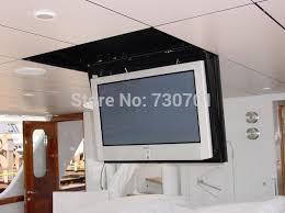 motorisierte elektrische versteckte flip unten falsche decke led lcd tv lift montieren aufhänger halter fernbedienung funktion 110v 250v 1 stücke