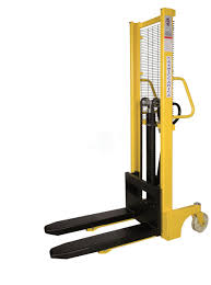 100 Hydraulic Hand Truck ARTPNF10 Hand Stacker Adjustable Forks Carmeccanica