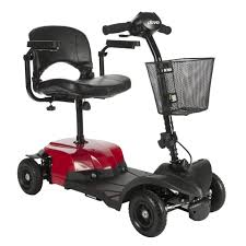 Transport Chair Walmart Canada by Drive Medical Scout Compact Travel Power Scooter 4 Wheel