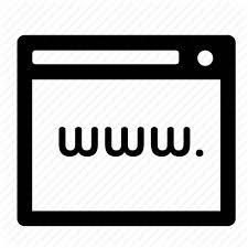 Browser internet url web website icon