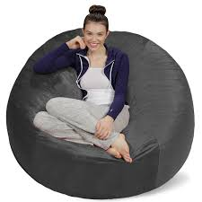 Sofa Sack - Plush Ultra Soft Bean Bags Chairs For Kids, Teens, Adults -  Memory Foam Beanless Bag Chair With Microsuede Cover - Foam Filled  Furniture ... 12 Best Stuffed Animal Storage Bean Bag Chairs For Kids In 2019 10 Best Bean Bags The Ipdent Top Reviews Big Joe Chair Multiple Colors 33 X 32 25 Giant Huge Extra Large 3 Ft Rated Bags Helpful Customer Amazoncom Acessentials Vinil And Teens Yellow Of Your Digs Believe It Or Not Surprisingly Stylish Beanbag