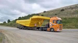 Van Der Vlist » 80 Ton Komatsu Dump Truck To France