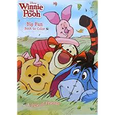DisneyR Winnie The Pooh A Pile Of Friends Coloring Book
