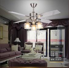Dining Room Ceiling Fan Retro Light Fans American Living